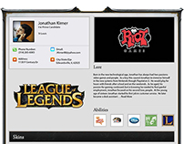 Riot Creative Resume