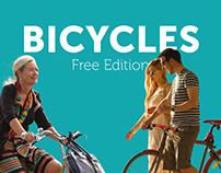 Cutout Bicycles FREE