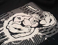 Mayhem Ape T Shirt