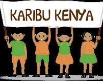 Karibu Kenya Illustartion