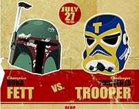 Star Wars - Stormtrooper/Boba Fett Match Up