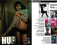 HUF Magazine #31 Cover & Fashion Editorial