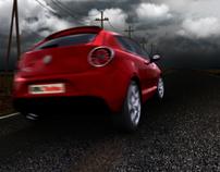 Alfa Romeo Mito - Banner