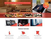 Heating systems - Webdesign