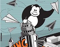KING ZOOBA_poster para Zooba Comunicação