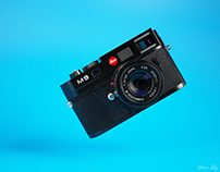 Leica M9 - 3d Illustration