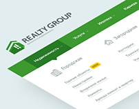 Realty Group — real estate agency corporate website