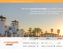 NTUC Club Proposed Web Designs