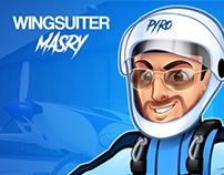 Wingsuiter Masry
