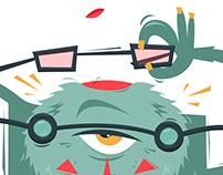 Мартышка и очки | Monkey and spectacles