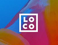 LOCO Event Planning Branding