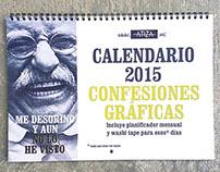 Calendario #ConfesionesGráficas 2015