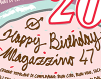 Happy Birthday Magazzino 47