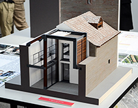 Architect model / Casa sul Lago d'Orta