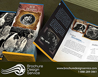 Tri-fold brochure design sample