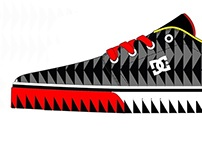 Shark Traction Shoe Design