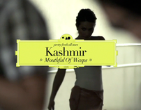 KASHMIR. Mouthful of Wasps. Videoclip