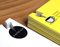 Cafeina, Business Card