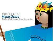 María Lionza. Ilustrada