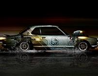 Skyline Mad Max Fantasy Piece