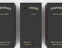 Twinings Black Label Packaging Concept