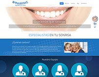 Sitio web Orthosolutions de Colombia