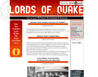 Lords of Quake gaming website