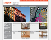 Modern Spaces Website