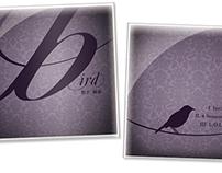 """""""Bird"""" CD Packaging"""