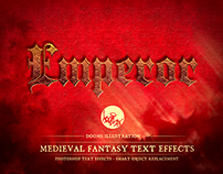 MEDIEVAL FANTASY TEXT EFFECTS