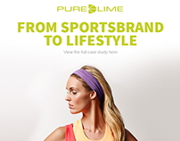 Purelime - From sports brand to lifestyle