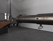 Martini Henry Grenade launcher- Modeled and Textured