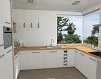 Kuchnia w domu jednorodzinnym / Kitchen in a house