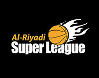 Al-Riyadi Super League // Logo Design (Jordan)