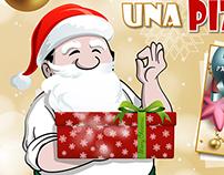 Papà Ninuccio | Christmas Pizza Card