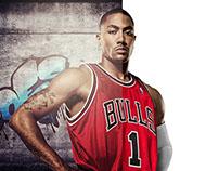 Fusão de imagens - Jogador de basquete