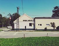 Neighborhood in Novi Sad, Serbia 2014