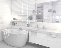 Duża łazienka / Big bathroom (2 versions)