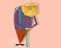 Flat Character Design