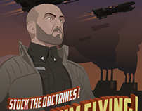 Eve Online Propaganda Posters