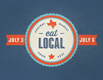 Central Market Eat Local Event
