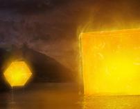 """Geometric Series : 4 - Cubes Plague"""