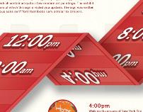 Typographic Timeline
