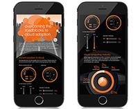 Orange Cloud Adoption Infographic