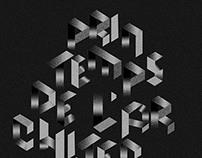 Typography Printemps de l'architecture