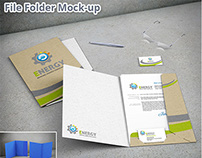 File Folder Mock-up