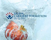 Campagne promotionnelle - Salon carrière formation