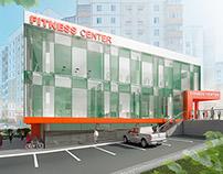 Fitness center, Belgorod, Russia