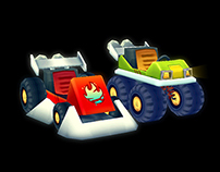 Kart Game 3D Assets