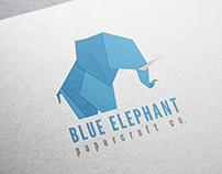 Logo Design & Branding - Blue Elephant